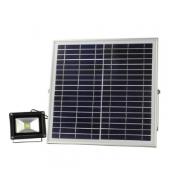 Hooree SL-310C-1 15W LED Solar Flood Light + Constant Light + Light Control