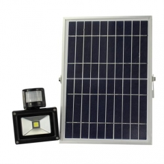 Hooree SL-310B-2 10W LED Solar Flood Light + Motion Sensor + Constant Light + Light Control