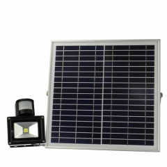 Hooree SL-310C-2 15W LED Solar Flood Light + Motion Sensor + Constant Light + Light Control