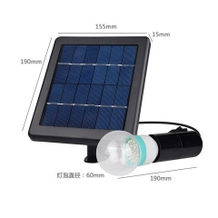 Hooree SL-40A Portable Single Light Bulb Outdoor Solar Light with Light Control Function