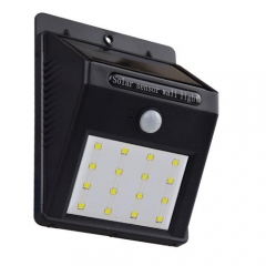 Hooree SL-810E 16 LED Motion Sensor Solar Wall Lamp