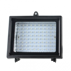 Hooree SL-70A 80 LED Solar Spotlight for Garden Use with Light Control Function