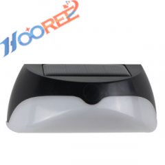 Hooree SL-850A 8 LED Dimable Motion Sensor Solar Decorative Wall Lamp