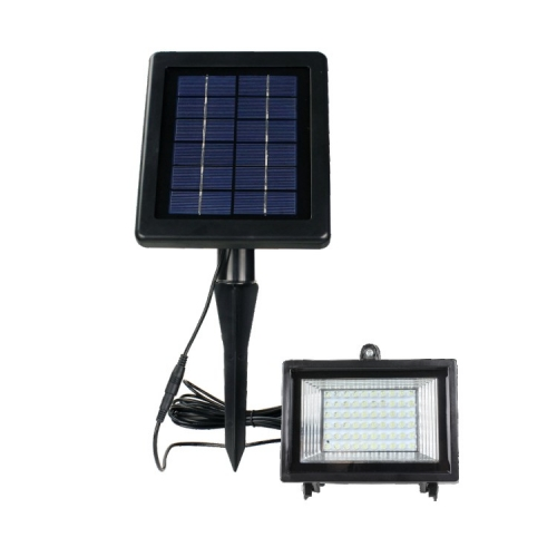 Hooree SL-30D 60 LED Spotlight Solar Lawn Light with Light Control Function